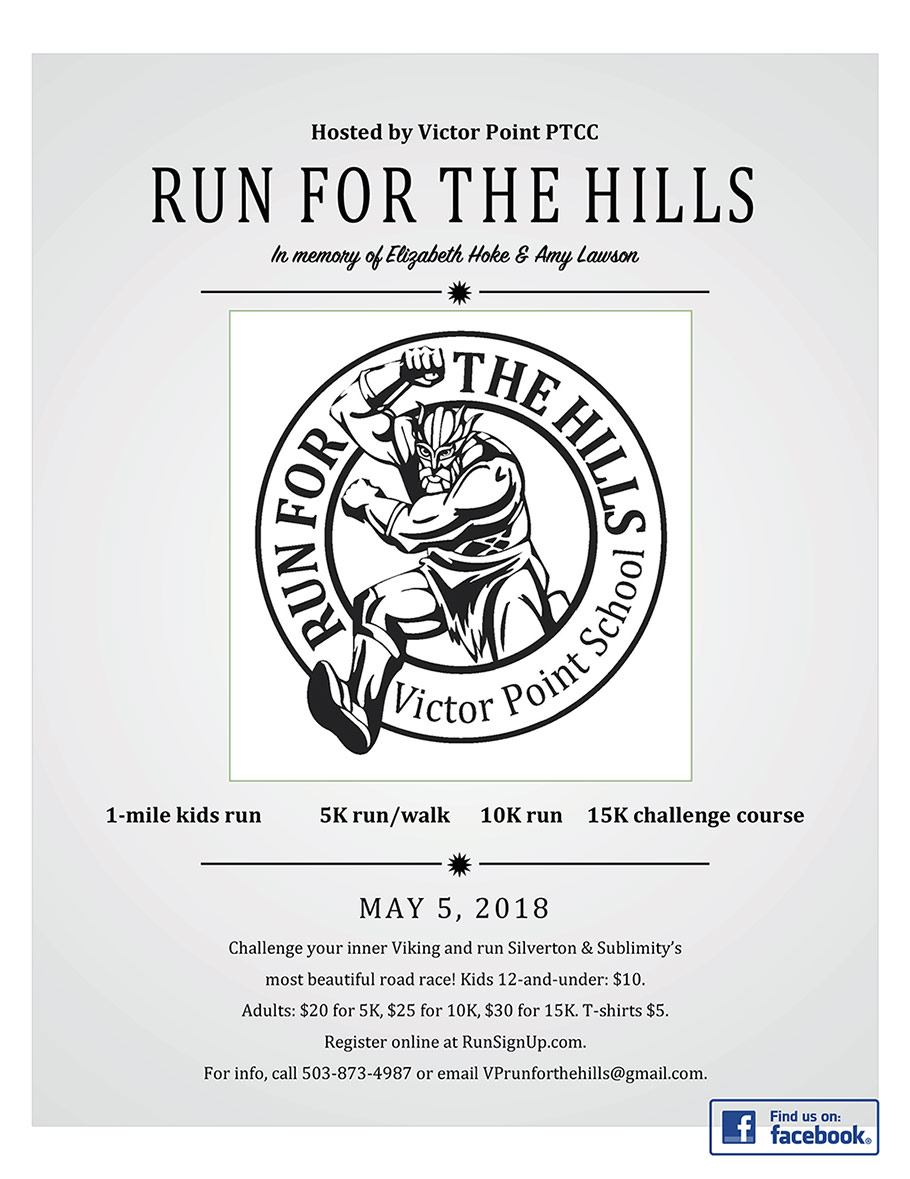 Run for the Hills Flyer 2018