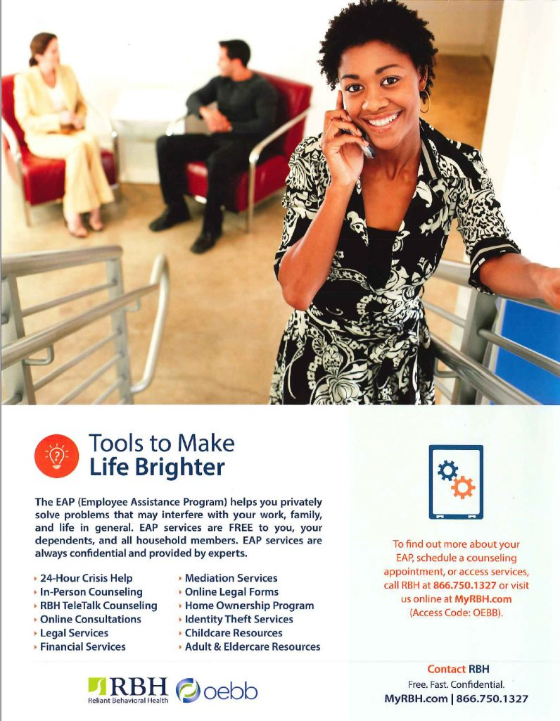 Employee Assistance Program Flier